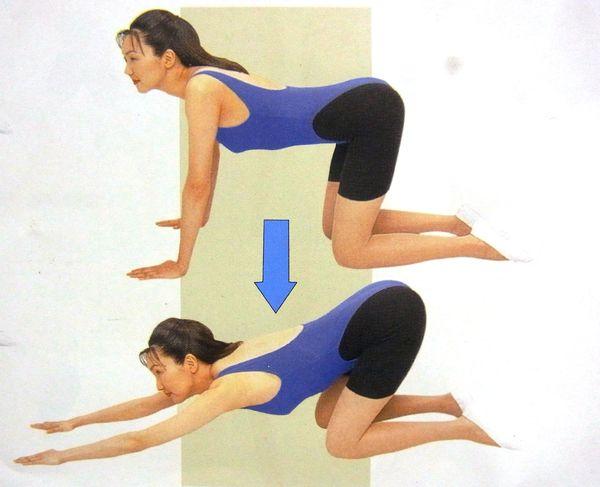 腰背肌的锻炼方法